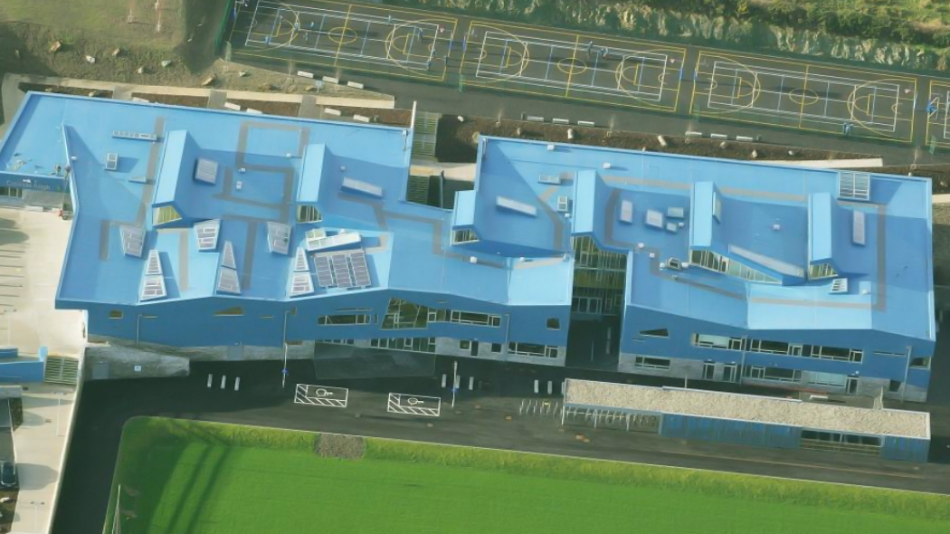 colaiste ailigh case study The Roof Centre