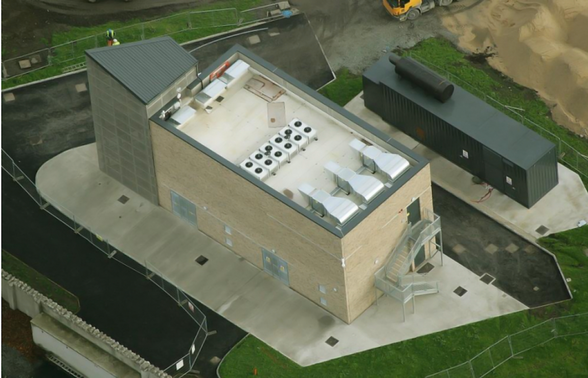 Dublin Institute of Technology Grangegorman case study The Roof Centre